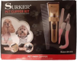 Pet Hair Clipper Kit